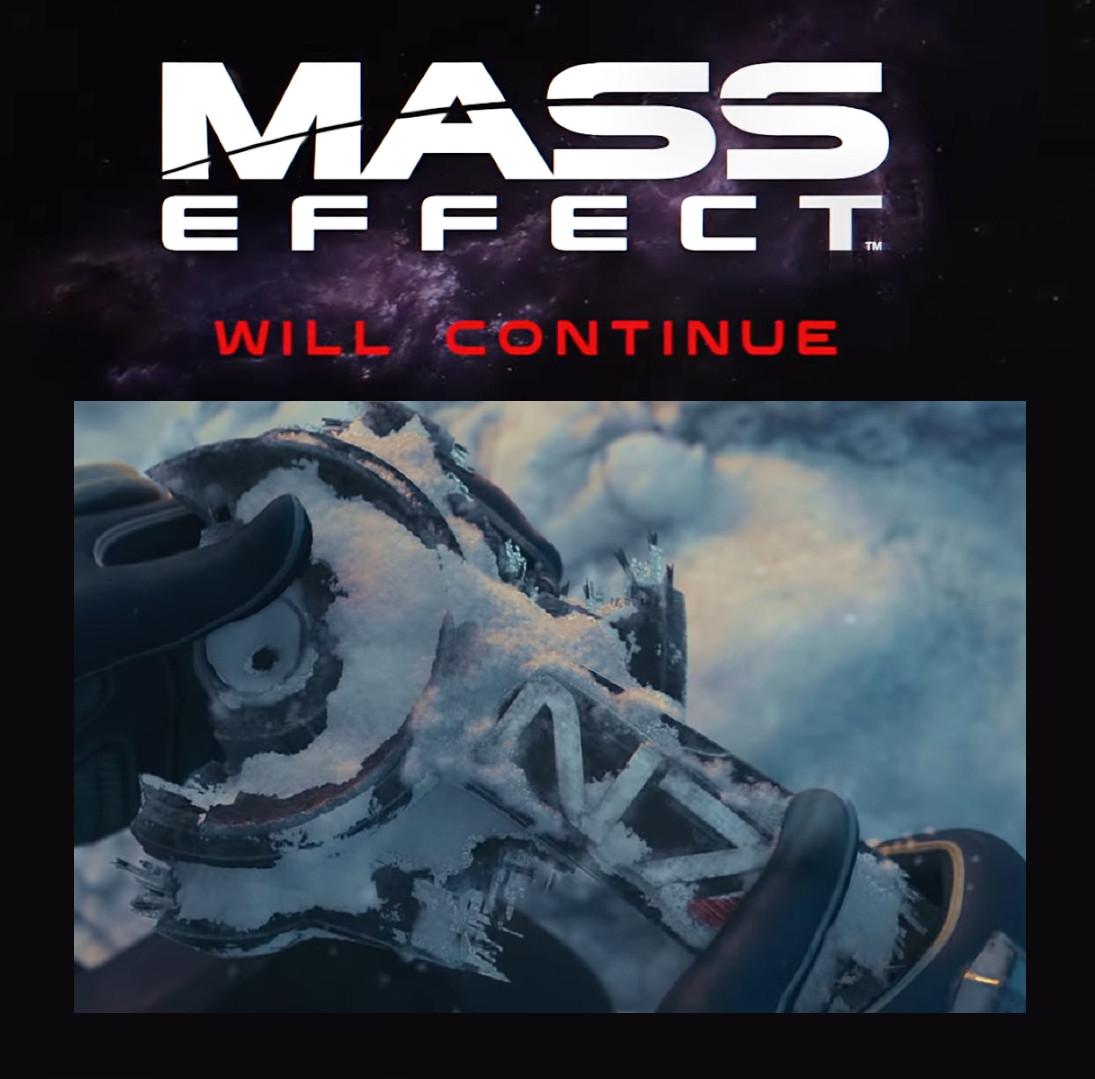 Mass Effect will continue