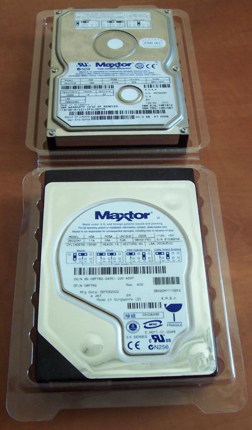 Maxtor hard disks broken