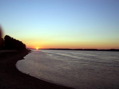 залез на Дунав